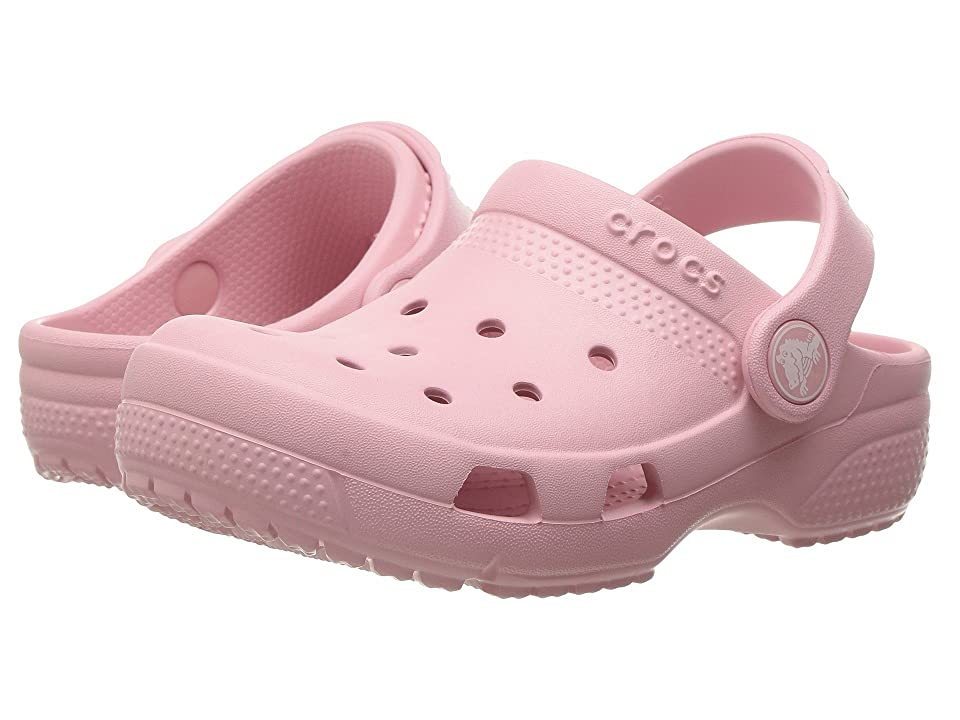 Crocs Kids Coast Clog (Toddler/Little Kid) (Petal Pink) Kids Shoes