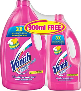 Vanish Stain Remover Liquid for Colors & Whites, 3L + 900ml