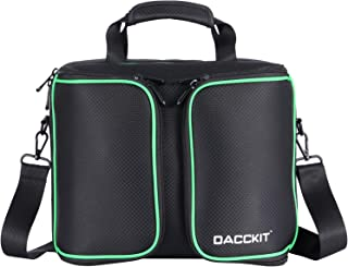 DACCKIT Travel Carrying Case Compatible with Xbox One X/Xbox One S Console and Accessories - Fit Game Console, 2x Wireless Controllers, Games, Headsets, Power Cables and More