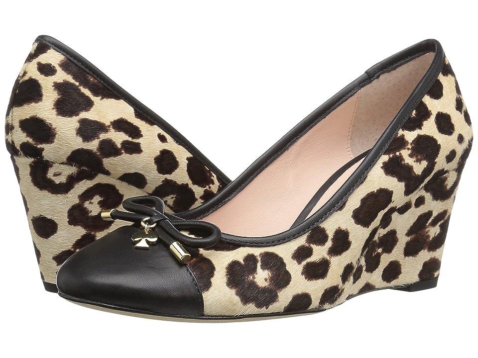 Kate Spade New York Kacey (Blush/Brown Leopard Haircalf Print) Women