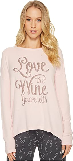 P.J. Salvage - Love Revolution Wine Sweater