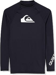 Quiksilver Men's All Time - Long Sleeve UPF 50 Rash Vest for Men Long Sleeve UPF 50 Rash Vest