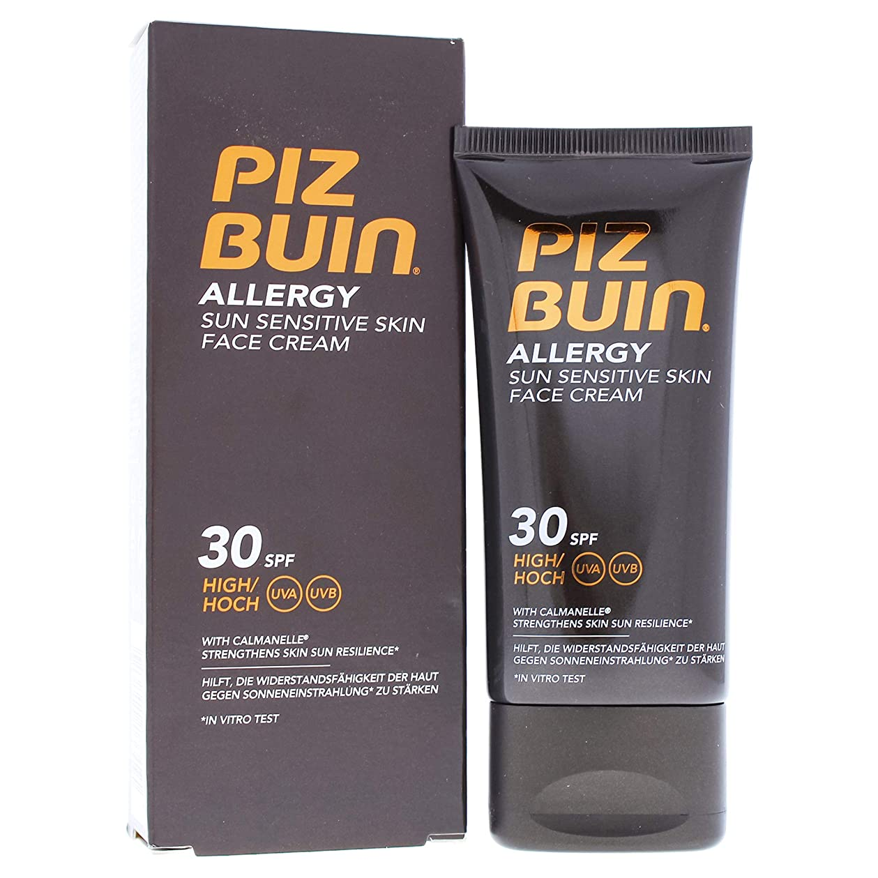 時間タオルコーナーPiz Buin Allergy Face Cream Spf30 50ml