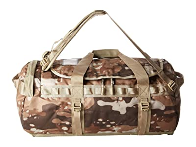 The North Face Base Camp Duffel Medium (Moab Khaki Woodchip Camo Desert Print/Twill Beige) Duffel Bags