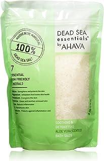 Dead Sea Essentials Ahava Bath Salts, Aloe Vera, 32 Fluid Ounce