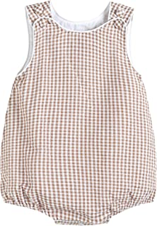 Lil Cactus Baby & Toddler Boys Seersucker or Gingham One-Piece Bubble Romper