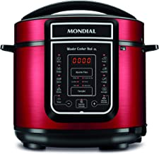 Panela de Pressão Elétrica Digital Master Cooker Red 5L, Mondial, PE-39.