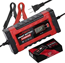 Autobots EnerGen Smart Battery Charger | Fully Automatic 12v & 24v Car, Auto, Motorcycle, Marine, and Boat Battery Maintainer | Perfect for AGM, Gel, and Lead Acid Batteries!