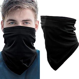 Azrra Bandanas Neck Gaiter Face Cover for Men Women, Dust Wind UV Protection