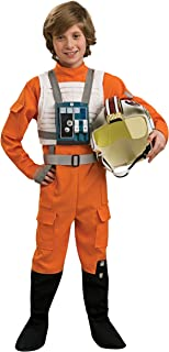 Star Wars X-Wing Pilot Child Costume Size 4-6 Small