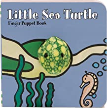 Little Sea Turtle: Finger Puppet Book: (Finger Puppet Book for Toddlers and Babies, Baby Books for First Year, Animal Finger Puppets) (Little Finger Puppet Board Books)