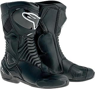 Alpinestars SMX-6 Men`s Motorcycle Street Boots (Black, EU Size 36)