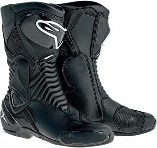 Alpinestars SMX-6 Men's Motorcycle Street Boots (Black, EU Size 36)