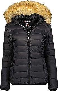 Geographical Norway Clara Lady – Abrigo corto cálido acolchado para mujer – Abrigo cálido invierno para mujer – Chaqueta a...