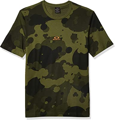 Oakley Camiseta con estampado de camuflaje para hombre