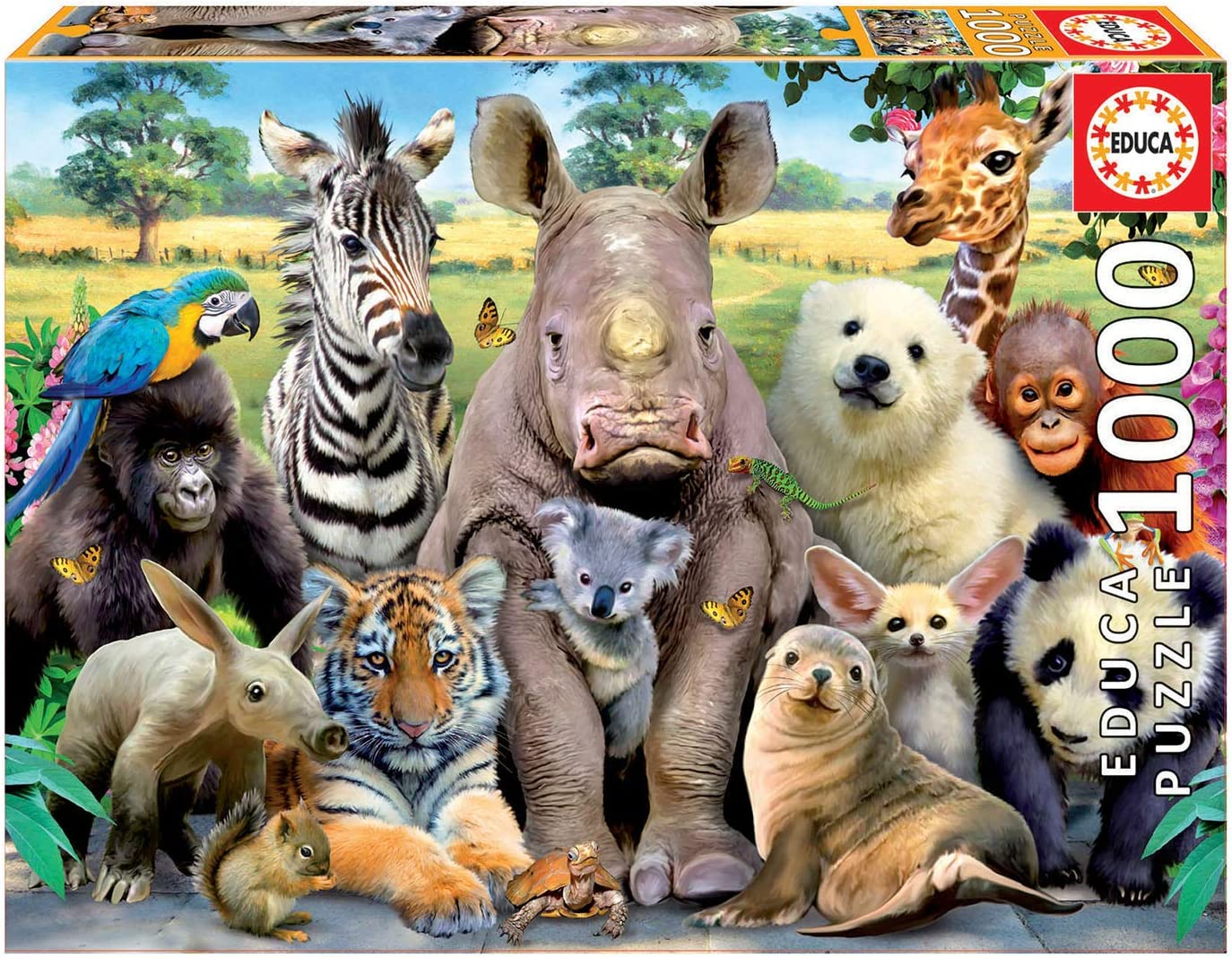 Educa Great Photo Puzzle Piece New Shipping Cheap bargain Free 1000