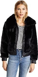 [BLANKNYC] Women's Faux Fur Coat Outerwear
