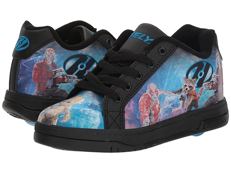 Heelys Split Guardians of the Galaxy (Little Kid/Big Kid/Adult) (Black/Blue) Kid