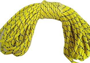 1/2 Inch by 125 Feet Arborist Rigging Rope, Yellow