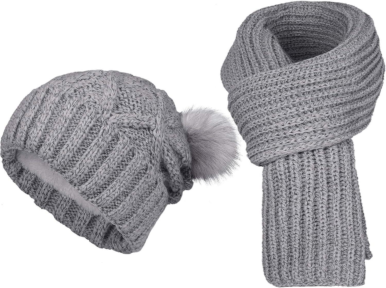 Import Memphis Mall Chalier 2 Pack Parent-Child Winter Hats Warmer Soft for Women Mo