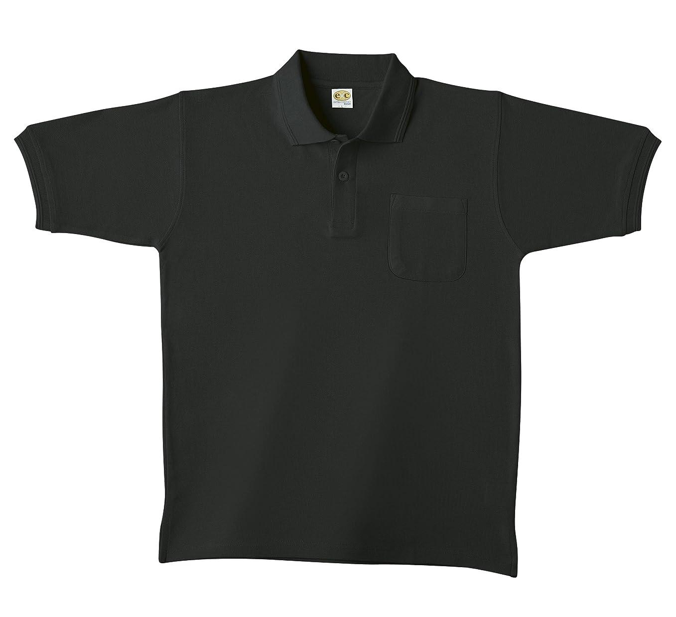 メンタル詩人水差しSOWA(ソーワ) 半袖ポロシャツ ブラック Mサイズ 0097