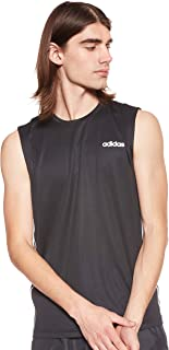 adidas Men's Design2Move Sleeveless 3S T-Shirt, Large