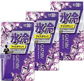 【Amazon.co.jp限定】 GATSBY(ギャツビー) ボディペーパー アイスフルーティー メンズ 制汗 デオドラント 汗拭きシート セット 30枚×3個