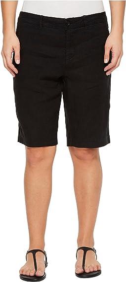 NYDJ Petite - Petite Bermuda Linen Shorts