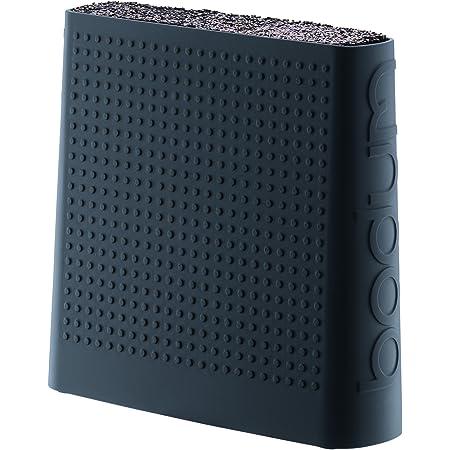 Bodum - 11089-01S - Bistro - Bloc Couteau, Plastique, Noir, 6,6 x 21,4 x 32 cm