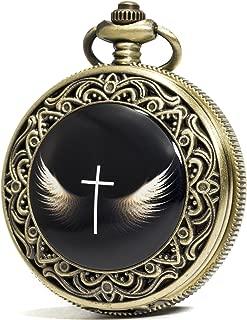 cross pocket watch
