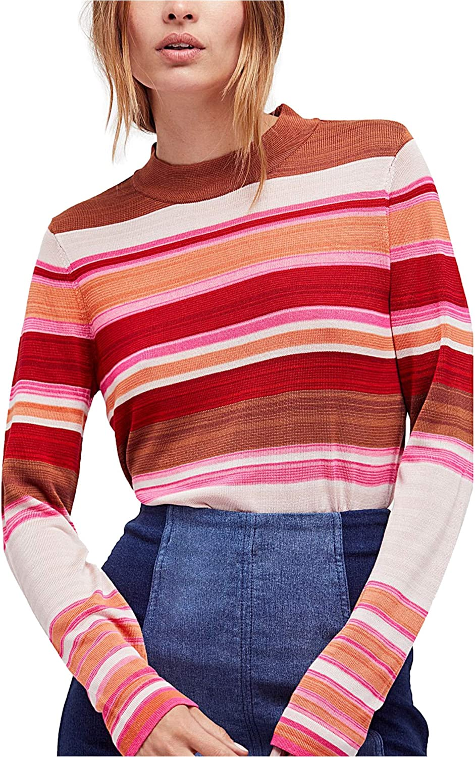 Free People Show Off Your Stripes Pullover