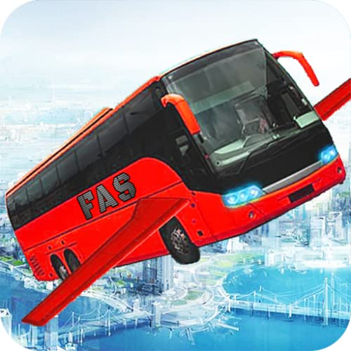 Flying Bus Simulator 2019