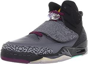 NIKE Men's Air Jordan Son of Mars Dark Grey/Gold-Bordeaux 512245-038 Shoe
