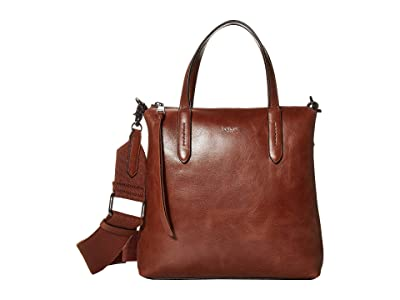 Botkier Highline Satchel (Caramel) Handbags