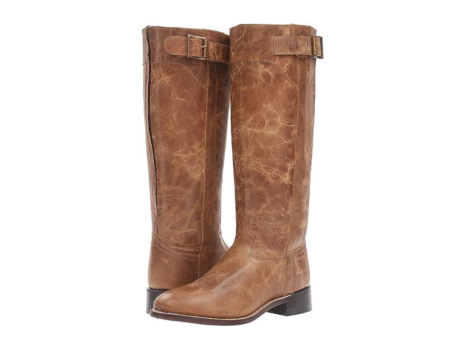 Old West Boots LB1601 (Tan Fry) Cowboy Boots