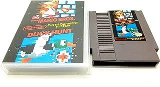 Super Mario Bros / Duck Hunt Nes Cartridge with Case and Box Art