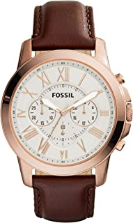 Fossil Men's Grant Analog Analog-quartz Brown Watch, (FS4991)