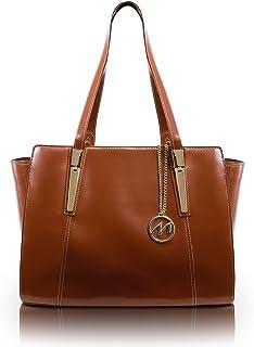 McKleinUSA Aldora 97504 Brown Leather Women's Business Tote