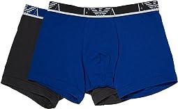 Emporio Armani - Stretch Cotton Eagle Logo 2-Pack Boxer Brief