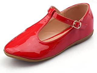 4898eef9ed3 Nova Utopia Toddler Little Girls Dress Ballet Mary Jane Bow Flat Shoes