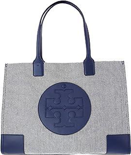 Tory Burch Women's Ella Canvas Tote Top-Handle Bag
