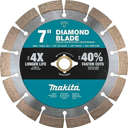 "high quality Makita high quality B-69624 7"" popular Diamond Blade, Segmented, General Purpose online sale"