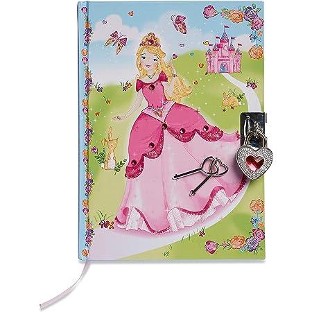 Lucy Locket – Diario Infantil de «Princesas» – Diario Secreto con candado y Llave de Princesas – Diarios para niños