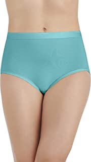 Vanity Fair Women's Comfort Where It Counts Brief Panty 13163, Rainforest Aqua, Large/7