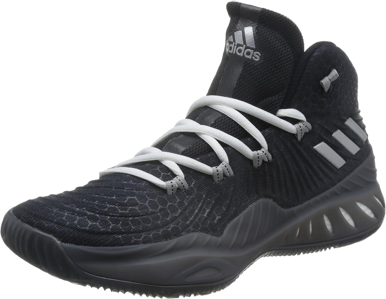 Adidas Herren Crazy Explosive 2017 Fitnessschuhe, Schwarz, 38.7 EU