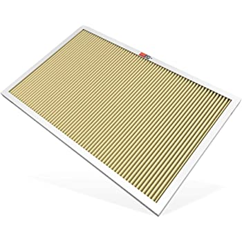 K&N 16x25x1 HVAC Furnace Air Filter; Lasts a Lifetime; Washable; Merv 11; Filters Allergies, Pollen, Smoke, Dust, Pet Dander, Mold, Smog, and More; Breathe Cleanly at Home, HVC-11625