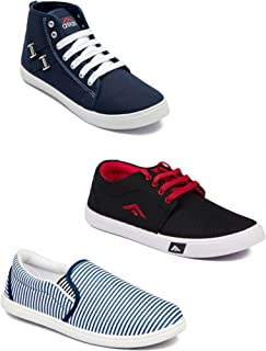 Asian Men's Casual Shoes Combo Pack of 3-0901-M96