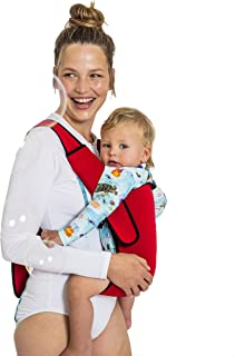 Frog Orange Wetsuit Baby Carrier (Bright Red)