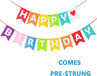Best colorful happy birthday banner Reviews