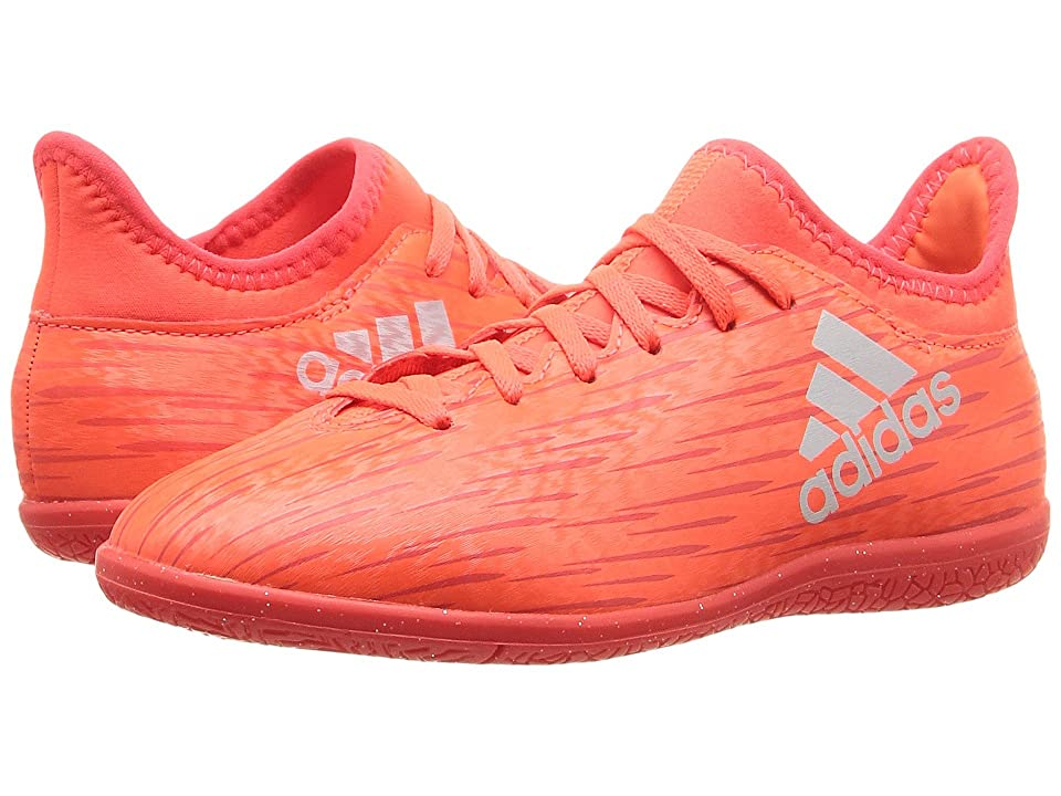 adidas Kids X 16.3 IN Soccer (Little Kid/Big Kid) (Solar Red/Silver Metallic/Hi-Res Red) Kids Shoes